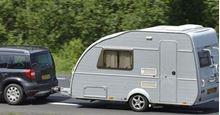 Picture of Car & Towing Caravan, Single