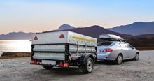 Picture of Car & Trailer, Single